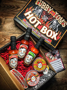 TUBBY TOM'S - HOT BOX - ULTIMATE SPICY GIFT BOX