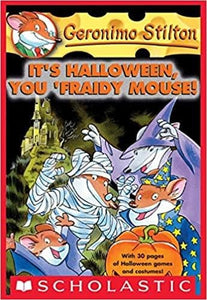 Its Halloween You Fraidy Mouse