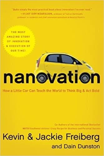 Nanovation How a Little Car Can Teach the World to Think Big