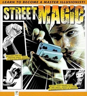 Street Magic (Hardbound Spiral Binding)