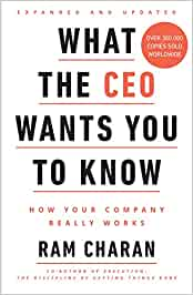 What the CEO Wants You to Know (HARDCOVER)