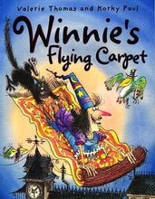Load image into Gallery viewer, Winnie's Flying Carpet (Paperback)
