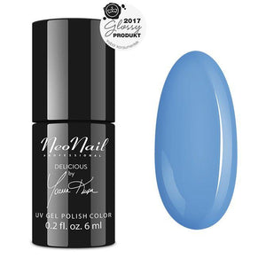 NeoNail - UV/LED Gel Polish 6 ml - Blue Cream Jelly