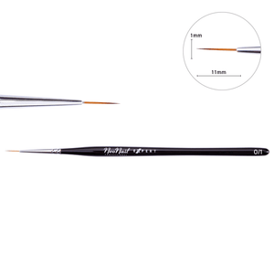 NeoNail Expert Art Brush - Synthetic 0/1