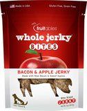 Fruitables Whole Jerky Bites Bacon & Apple Dog Treats