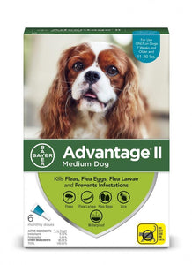 Bayer Advantage II Medium Dog