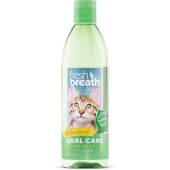 Tropiclean Fresh Breath Water Additive for Cats