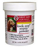 Miracle Care Kwik Stop Styptic Powder for Dogs and Cats