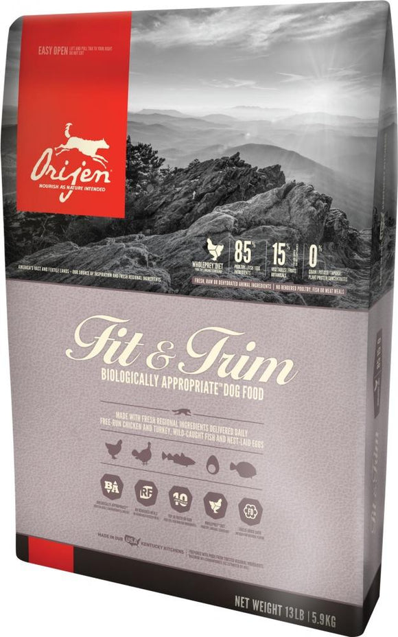 ORIJEN Grain Free Fit & Trim Dry Dog Food