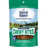 Natural Balance L.I.D. Limited Ingredient Diets Grain Free Chewy Bites Lamb Formula Dog Treats