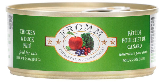 Fromm Four Star Chicken & Duck Pate Can