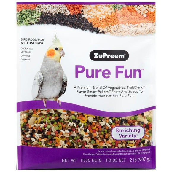 PURE FUN BIRD FOOD FOR MEDIUM BIRDS