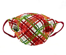 Load image into Gallery viewer, Red Christmas Tartan