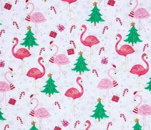 Load image into Gallery viewer, Christmas Cane Flamingos