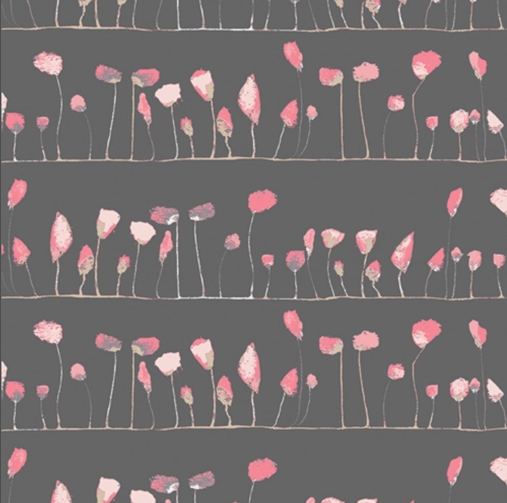 Petal Flamingoes Abstract