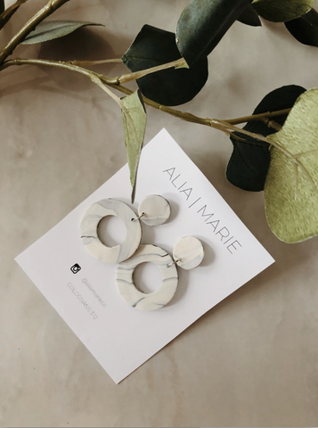 ALIA MARIE CO earrings at Franklin and Rose Boutique