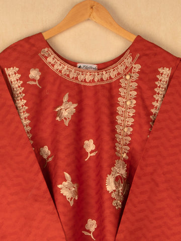 Mirrors Embellished Embroided Shirt