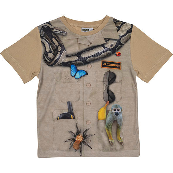 T-shirt Jr. Zookeeper 6-7 Years