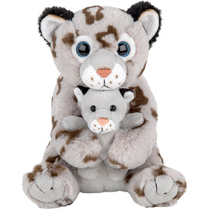 Cub Care Snow Leopard w/Baby