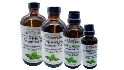 Organic Peppermint Essential Oil - Bulk and Free Shipping