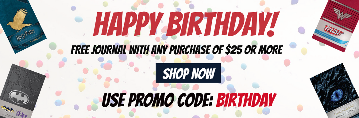 Free birthday journal