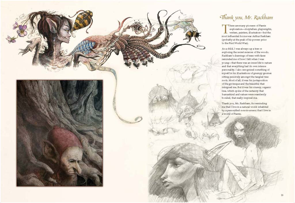 Brian Froud's World of Faerie [Limited Edition]