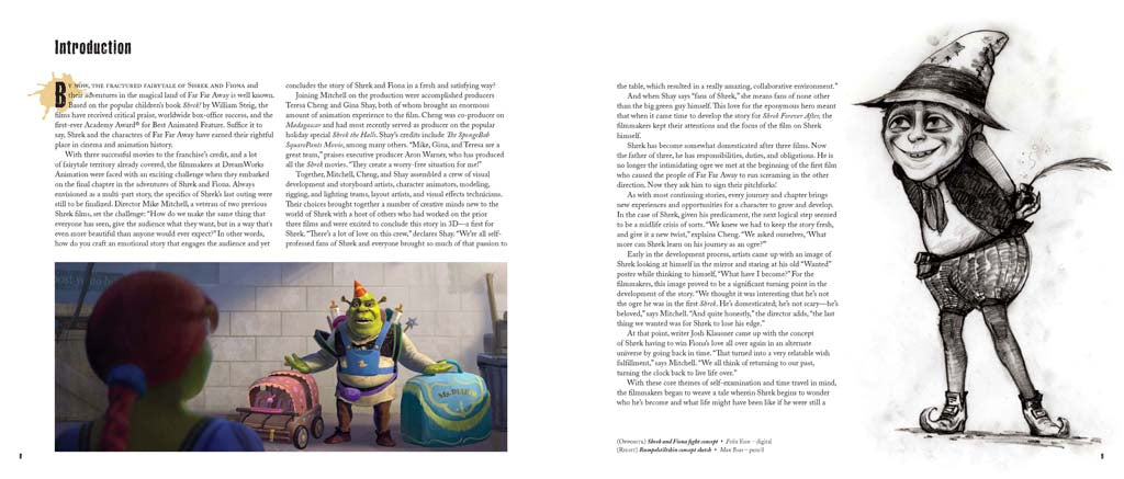 The Art of Shrek Forever After
