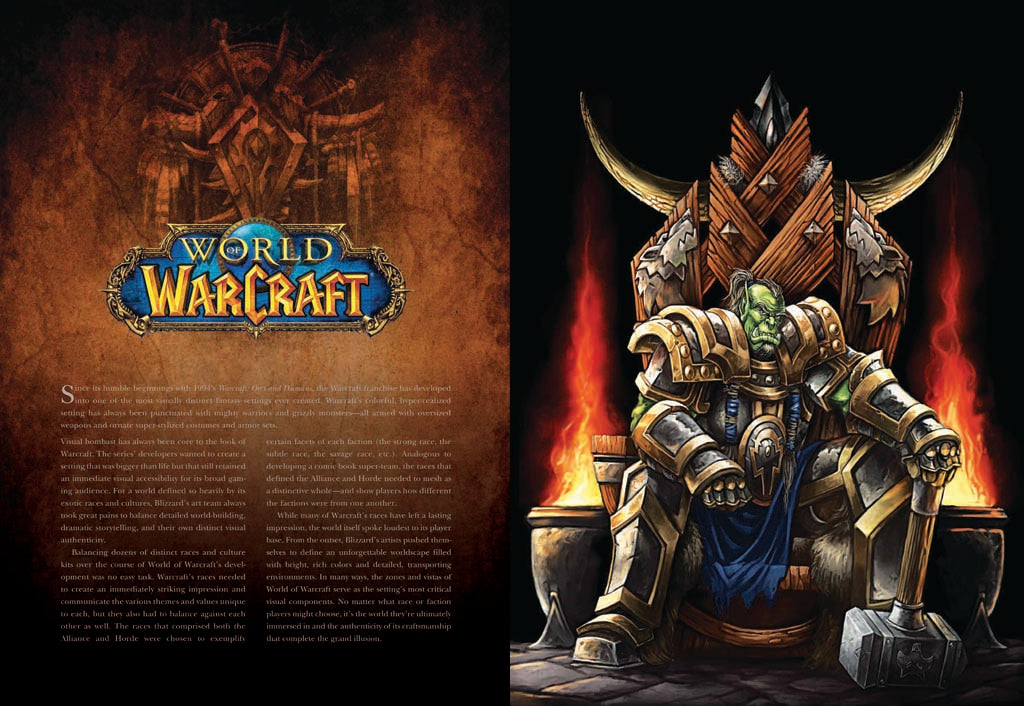 The Art of Blizzard Entertainment [Deluxe Edition]