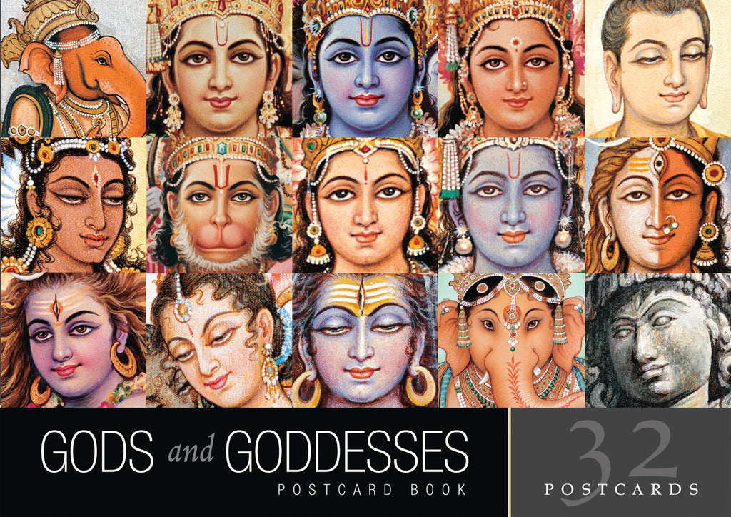 Gods and Goddesses Postcard Book