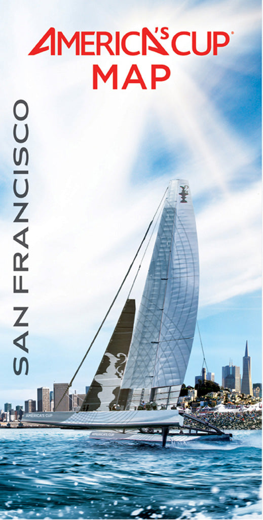 San Francisco America's Cup Map