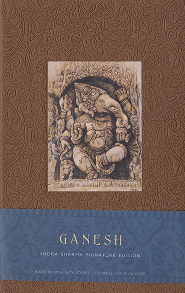 Ganesh Hardcover Ruled Journal (Large)
