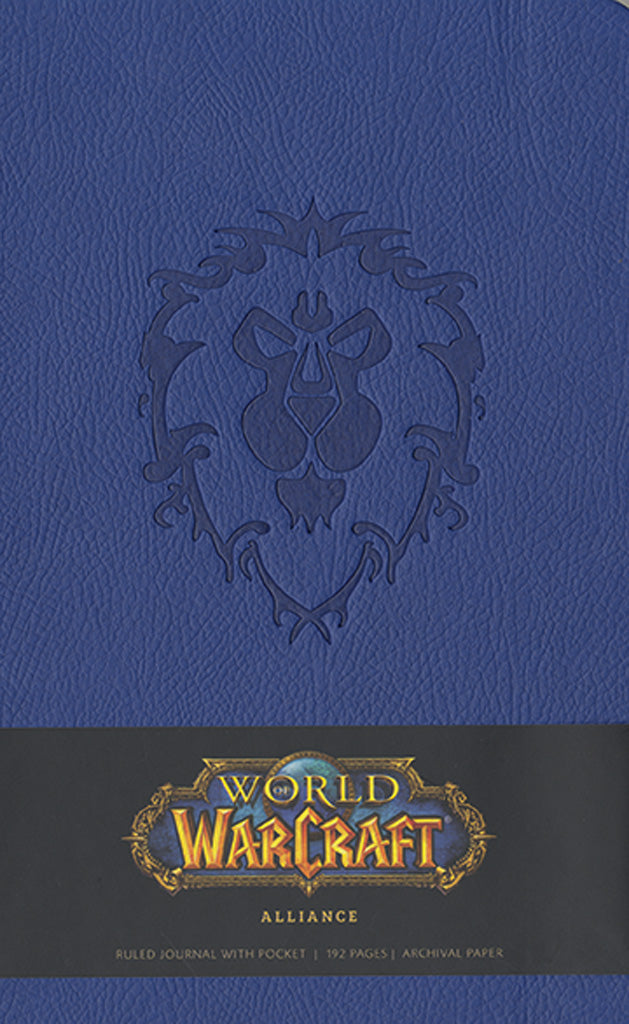 World of Warcraft® Alliance Hardcover Ruled Journal (Large)
