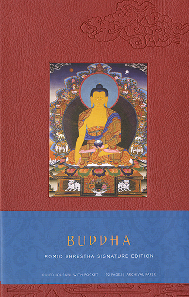 Buddha Hardcover Blank Journal
