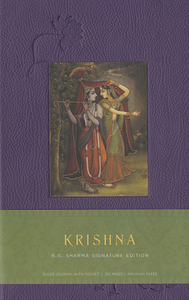 Krishna Hardcover Blank Journal