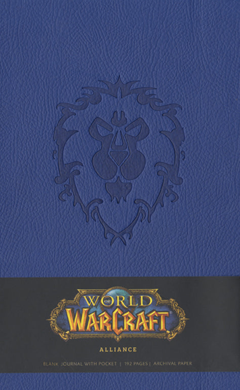 World of Warcraft Alliance Hardcover Blank Journal (Large)
