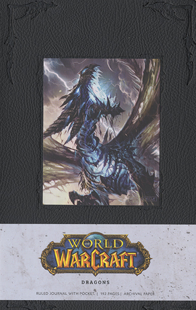 World of Warcraft Dragons Hardcover Blank Journal (Large)