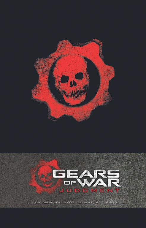 Gears of War Judgment Hardcover Blank Journal (Large)