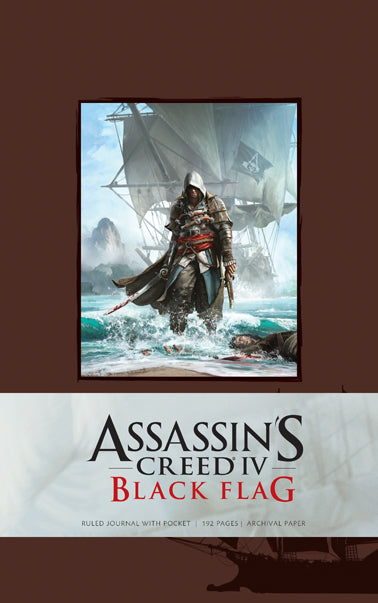 Assassin's Creed IV Black Flag Hardcover Blank Journal (Large)