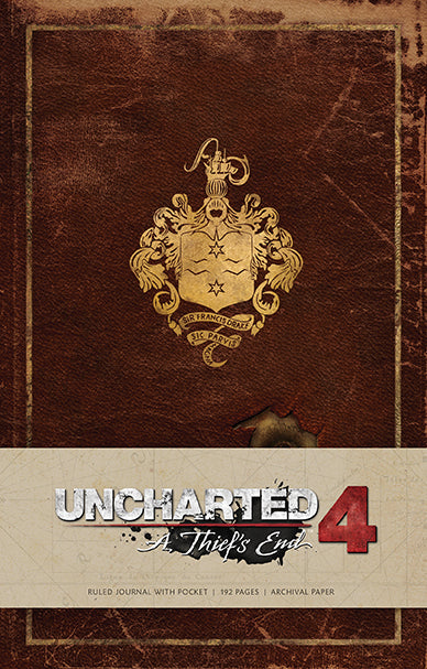 Uncharted Hardcover Ruled Journal
