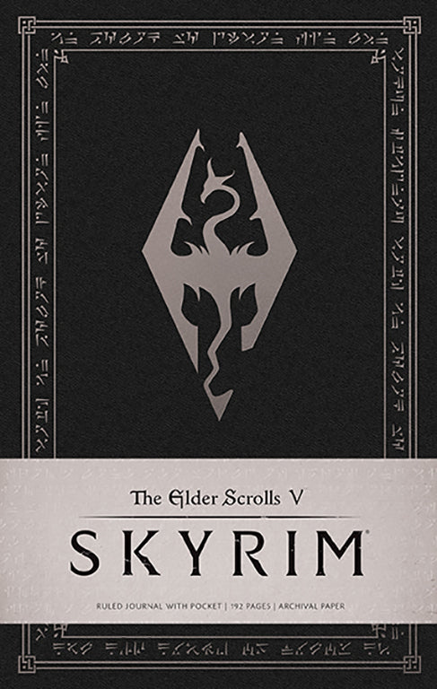 The Elder Scrolls V: Skyrim Hardcover Ruled Journal