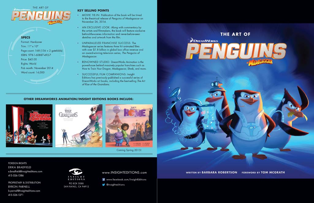 The Art of Penguins of Madagascar