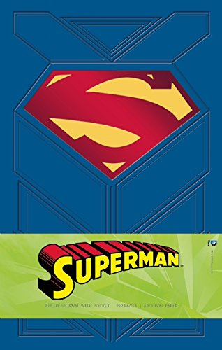 Superman Hardcover Ruled Journal (Large)