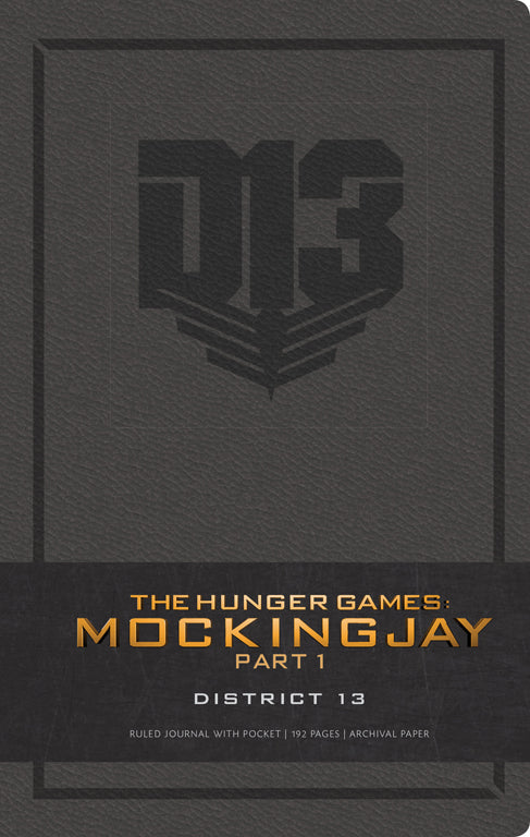 The Hunger Games: District 13 Hardcover Ruled Journal (Large)