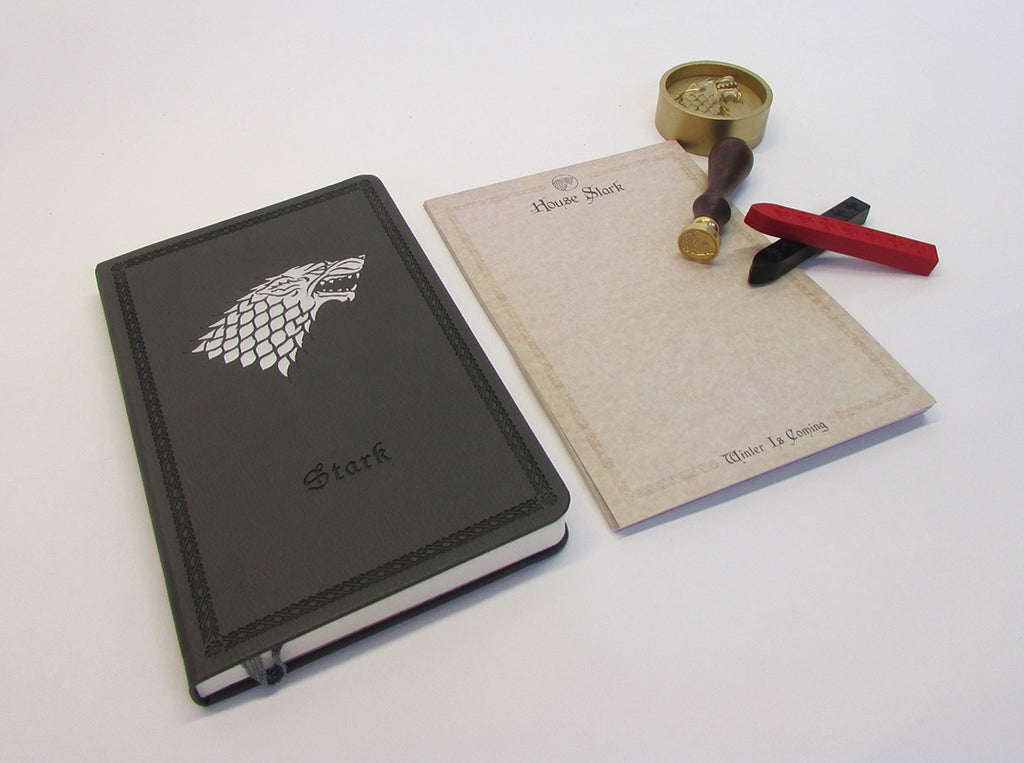 Game of Thrones: House Stark Deluxe Stationery Set