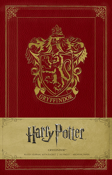 Harry Potter Gryffindor Hardcover Ruled Journal