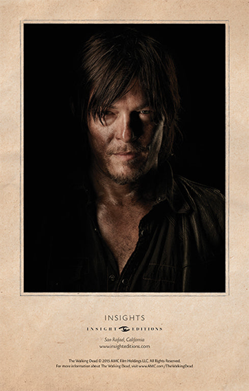 The Walking Dead Hardcover Ruled Journal - Daryl Dixon