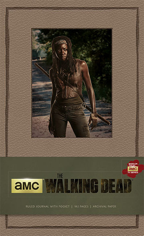 The Walking Dead Hardcover Ruled Journal - Michonne