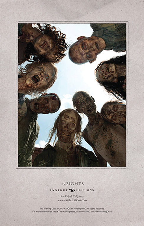 The Walking Dead Hardcover Ruled Journal - Walkers