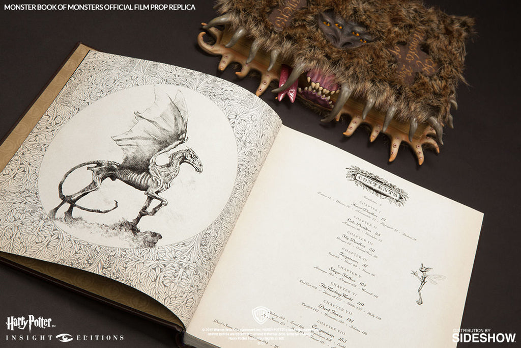 Harry Potter: The Monster Book of Monsters Official Film Prop Replica
