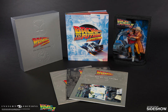 Back to the Future: Sculpted Movie Poster & Back to the Future: The Ultimate Visual History Collector's Edition